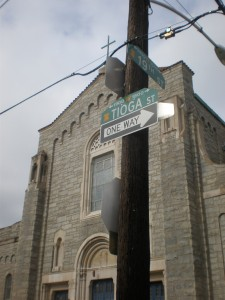 Mercy Family Center relocated from a deteriorating building on 19th and Tioga streets.