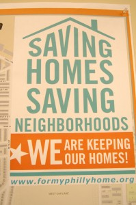 The West Oak Lane CDC is one of only two CDC's in Philadelphia to sponsor the Saving Homes Saving Neighborhoods program